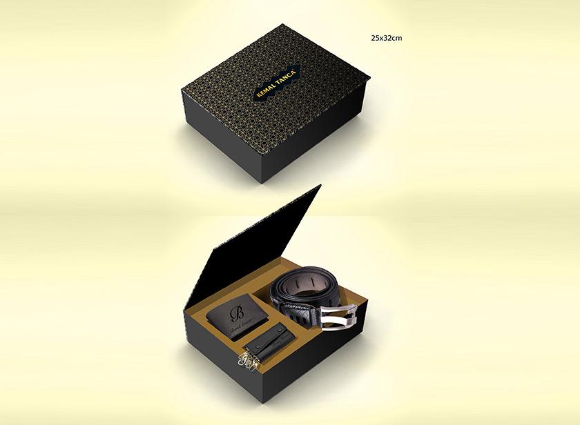 Kutu Tasarım Kemer Cüzdan 2