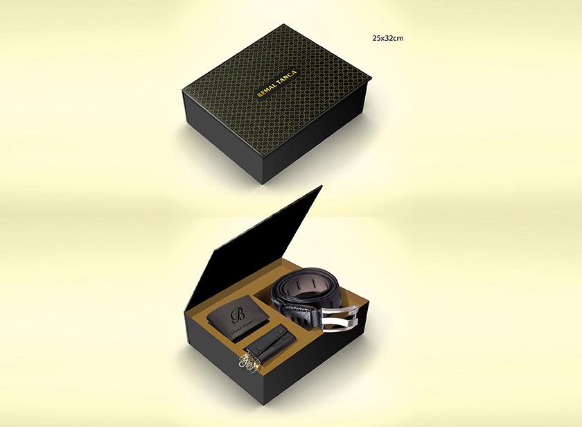 Kutu Tasarım Kemer Cüzdan 3